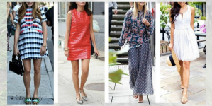 Style guide : Είσαι μικροκαμωμένη; Πως να συνδυάσεις φορέματα με flat παπούτσια