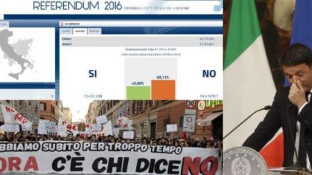 Ιταλία: Ηχηρό «όχι» και αντίο στον Ρέντσι -Τα σενάρια για την επόμενη ημέρα