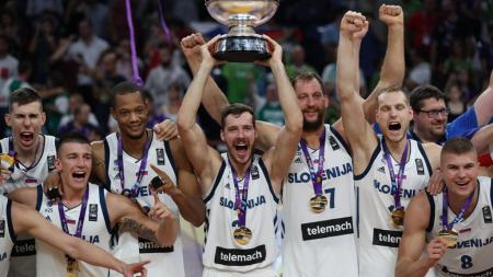 Πρωταθλήτρια Ευρώπης η Σλοβενία σε έναν συγκλονιστικο τελικό