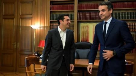 Η ΝΔ προηγείται 11,9 μονάδες του ΣΥΡΙΖΑ σε νέα δημοσκόπηση