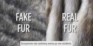 Η αληθινή ή η πλαστική γούνα είναι οικολογική γούνα; (βίντεο στα ελληνικά)