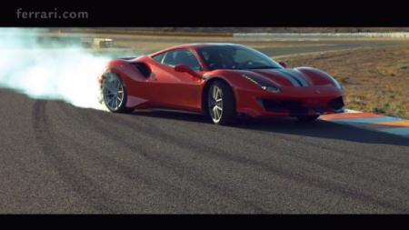 Η Ferrari 488 Pista εν δράσει [video]