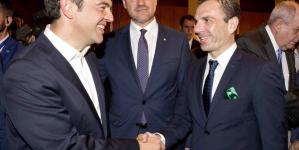 Συνάντηση Γιάννη Κορεντσίδη, με τον Πρωθυπουργό Αλέξη Τσίπρα (Φώτο)