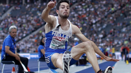 Χρυσό μετάλλιο και πρωταθλητής Ευρώπης ο Μίλτος Τεντόγλου