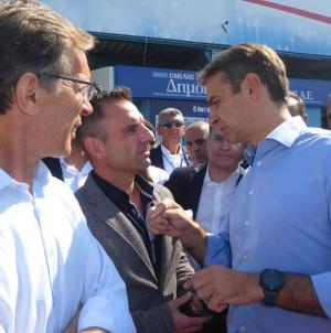 Συνάντηση με τον Κυριάκο Μητσοτάκη είχε ο Γιάννης Κορεντσίδης στη ΔΕΘ (φωτο)