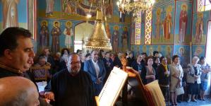 Εγκαινιάστηκε το εξωκλήσι του Αγίου Νικολάου στο Άργος Ορεστικό