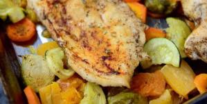 Κοτόπουλο στο φούρνο, χωρίς πατάτες