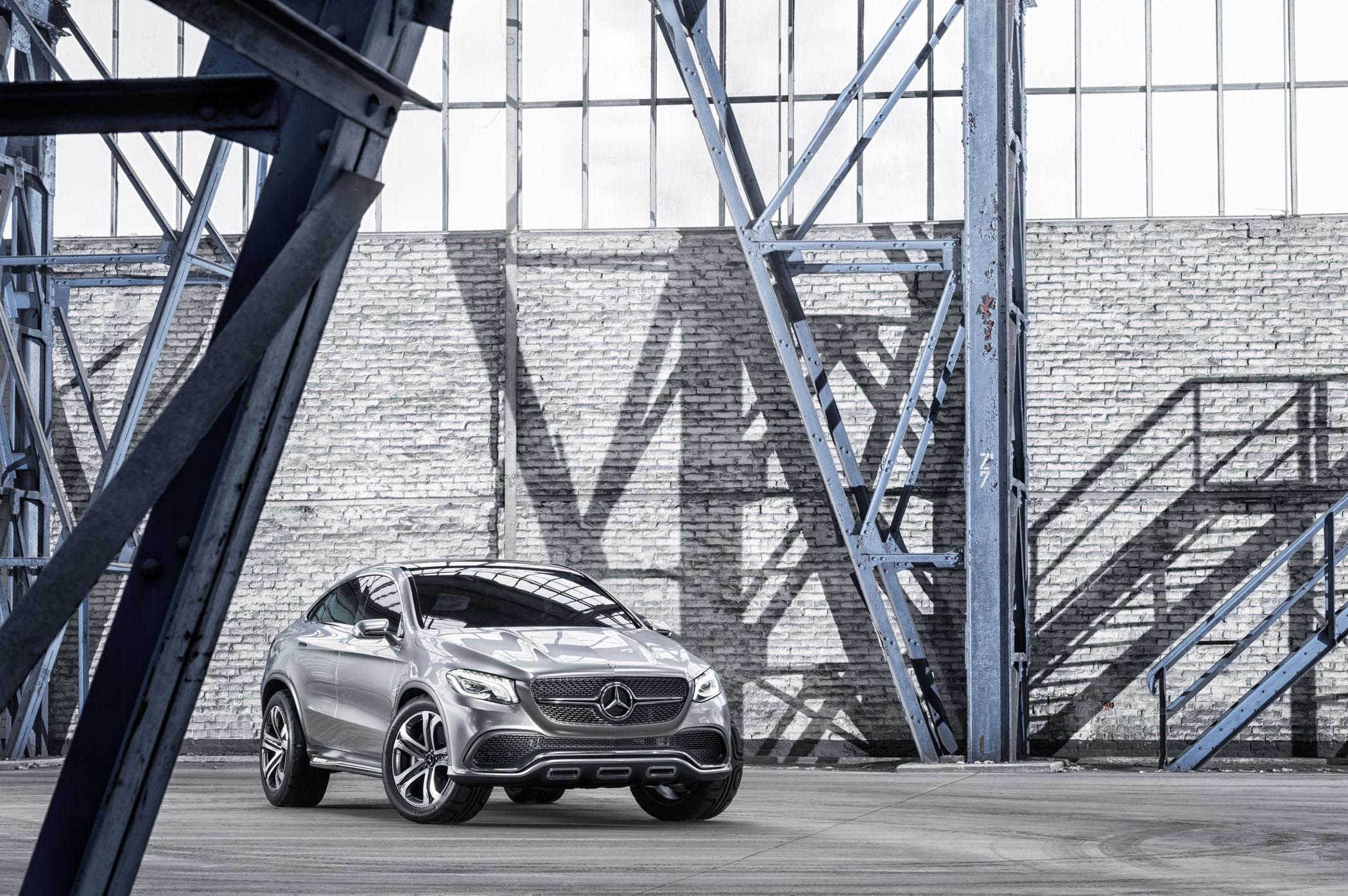 Mercedes-Benz Concept Coupe SUV: Πλήρης αποκάλυψη (Photos)