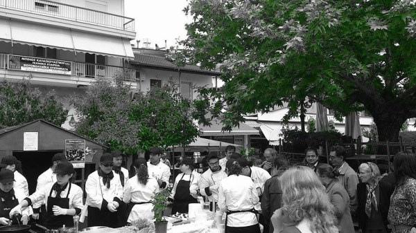 Αριδαία: Γέμισε Chef χθες η Κεντρική Πλατεία (φώτο)