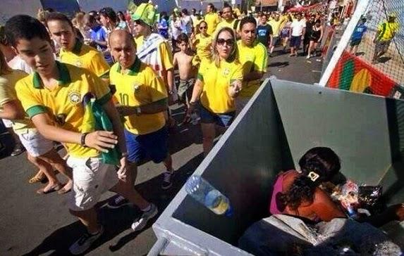 Φωτογραφία-σοκ από τη Βραζιλία