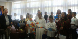 Τα κάλαντα του Λαζάρου τραγούδησαν στον Αντιπεριφερειάρχη Καστοριάς