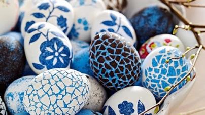 πρωτότυπες ιδέες για να κάνετε το βάψιμο των πασχαλινών αυγών
