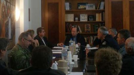 Συνεδρίαση Συντονιστικού Οργάνου Πολιτικής Προστασίας Ενόψει της Νέας Αντιπυρικής Περιόδου