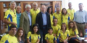 Run Greece: Ομάδα Κυπρίων αθλητών επισκέφτηκαν τον Αντιπεριφερειάρχη Καστοριάς