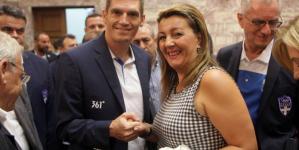 Η Μαρία Αντωνίου στην εκδήλωση της Βουλής για τους αθλητές που συμμετείχαν στους Ολυμπιακούς του Ρίο (φωτογραφίες)