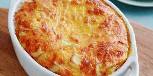 Συνταγή για εύκολο σουφλέ ζυμαρικών