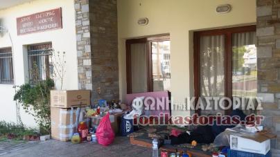 Κατάληψη χώρου του ΚΑΠΗ Καστοριάς από άστεγο