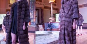Προβολή της Fur Excellence in Athens σε ξένα περιοδικά
