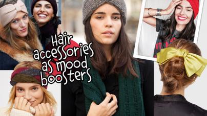 Χειμερινά αξεσουάρ μαλλιών που θα σου φτιάξουν τη διάθεση μια μέρα σαν κι αυτή!