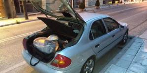 Καστοριά: Συνελήφθησαν 2 άτομα για διακίνηση μεγάλης ποσότητας ακατέργαστης κάνναβης (Φωτο)