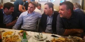 Σε κλειστή συνάντηση στελεχών Βορείου Ελλάδος της ΝΔ ο Κίμωνας Μηταλίδης