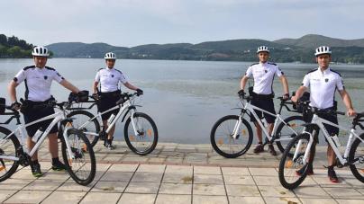 Θετικά τα πρώτα αποτελέσματα της αστυνόμευσης με ποδήλατα στην Καστοριά – Ο απολογισμός των πρώτων 15 ημερών