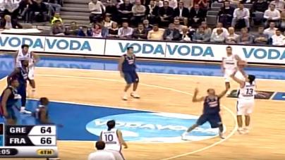 Σαν σήμερα «Βάλτο αγόρι μου»: Ελλάδα – Γαλλία 67 – 66 στο Eurobasket 2005 | Η μεγάλη στιγμή του Δημήτρη Διαμαντίδη