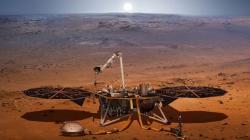 Ιστορική στιγμή: Το Insight προσεδαφίστηκε στον πλανήτη Άρη