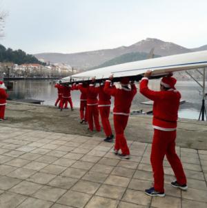 Οι Αϊ-Βασίληδες κωπηλάτες του Ναυτικού Ομίλου Καστοριάς ξαναχτυπούν (φωτο)