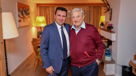 Με τον Τζ.Σόρος συναντήθηκε ο Ζ.Ζάεφ