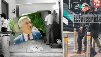 Ο Κουφοντίνας ξανά στον τόπο του εγκλήματος -Κοντά στα σημεία που δολοφόνησε Π.Μπακογιάννη, Αξαρλιάν και Βρανόπουλο [εικόνες]