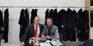 Στην Έκθεση Γούνας του Μιλάνο ο Γιάννης Κορεντσίδης (φωτογραφίες)