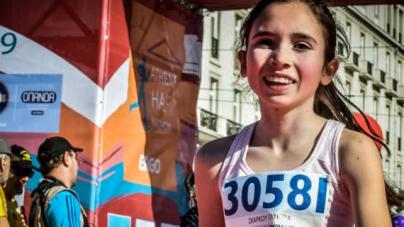 Η 13χρονη Γλυκερία Σκάρκου δεύτερη στα 3 χλμ. στον Ημιμαραθώνιο
