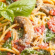 Vegetarian σπαγγέτι μανιτάρια