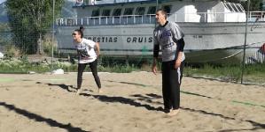 Beach volley στην Καστοριά ο Δημήτρης Διαμαντίδης