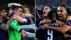Για πρώτη φορά τέσσερις ομάδες από την ίδια χώρα σε τελικούς ευρωπαϊκών Κυπέλλων