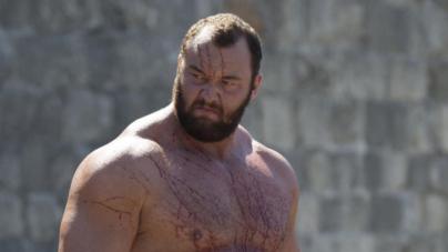Συλλεκτική φωτό: Όταν το «Βουνό» του Game of Thrones έπαιξε μπάσκετ στην Αμαλιάδα
