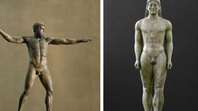 Να γιατί τα αρχαία ανδρικά αγάλματα έχουν συνήθως μικρά μόρια