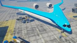 Αυτό είναι το επιβατικό αεροσκάφος του μέλλοντος: Σχήματος V, με δύο ατράκτους! [εικόνες]