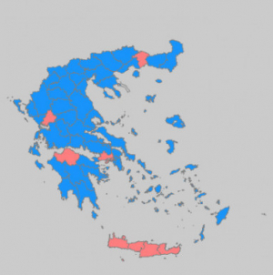 Αποτελέσματα βουλευτικών εκλογών 2019: ΝΔ 39,85 %, ΣΥΡΙΖΑ 31,53%, ΚΙΝΑΛ 8,10%