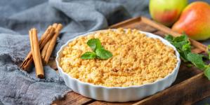 Συνταγή για τριφτή μηλόπιτα