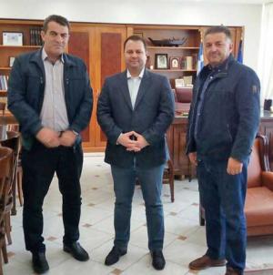 Επίσκεψη του ΓΓ Εμπορίας & Προστασίας Καταναλωτή στον Αντιπεριφερειάρχη Καστοριάς