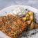 Συνταγή για κοτόπουλο παναρισμένο σε λευκό και μαύρο σουσάμι