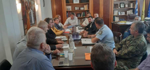 Συνεδρίαση του Συντονιστικού Οργάνου Πολιτικής Προστασίας  της Π.Ε. Καστοριάς ενόψει της Χειμερινής Περιόδου