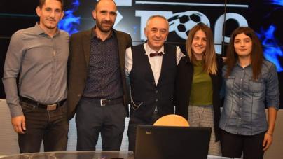 Ο ΓΠΟ Καστοριάς στην εκπομπή «Ματιές στα σπορ» και το δώρο στον παρουσιαστή (φωτογραφίες)