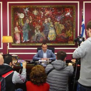 Συνέντευξη Τύπου στα Μέσα Ενημέρωσης παραχώρησε ο Δήμαρχος Καστοριάς, Γιάννης Κορεντσίδης