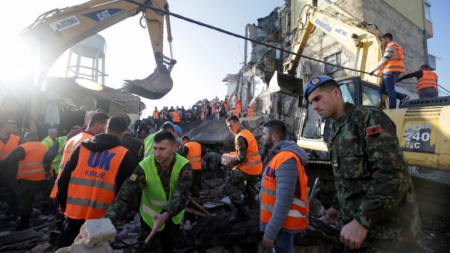 Σεισμός – Αλβανία: Έξι οι νεκροί από τα 6,4 Ρίχτερ! Εκατοντάδες τραυματίες, μεγάλες καταστροφές