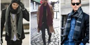 20 Ανδρικά outfits με κασκόλ!