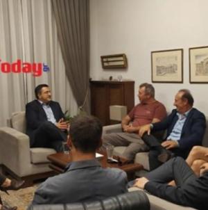 Τζιτζικώστας: Το 2020 θα ολοκληρωθούν τα κινηματογραφικά στούντιο στη Θεσσαλονίκη [βίντεο]