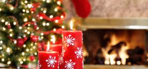 Χριστουγεννιάτικη διακόσμηση: Πώς να φτιάξετε χριστουγεννιάτικα κεριά εύκολα και οικονομικά [εικόνες]